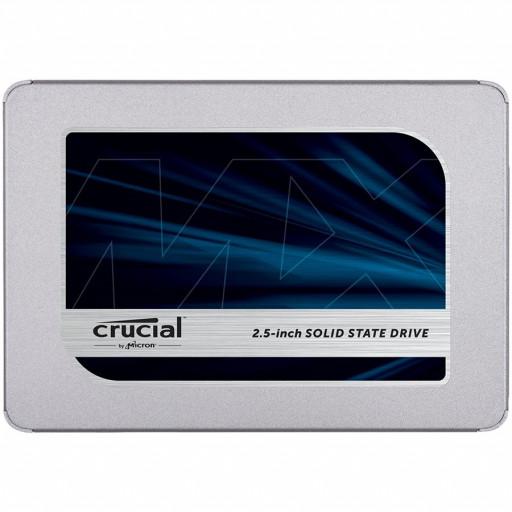 """CRUCIAL MX500 1TB SSD, 2.5"""" 7mm, SATA 6 Gb/s, Read/Write: 560 / 510 MB/s, Random Read/Write IOPS 95K/90K"""
