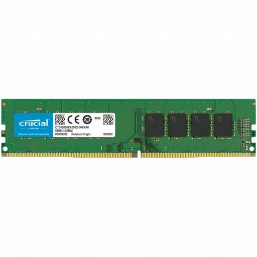 CRUCIAL 16GB DDR4 2666MHz UDIMM