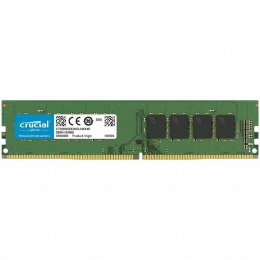 CRUCIAL 16GB DDR4-3200 UDIMM CL22 (8Gbit/16Gbit)