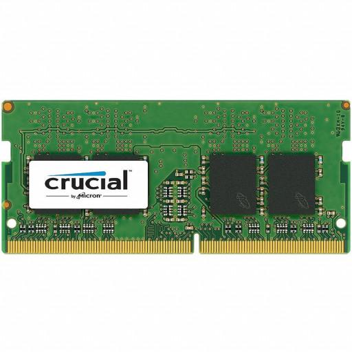 CRUCIAL 16GB DDR4-2666 SODIMM CL19 (8Gbit)