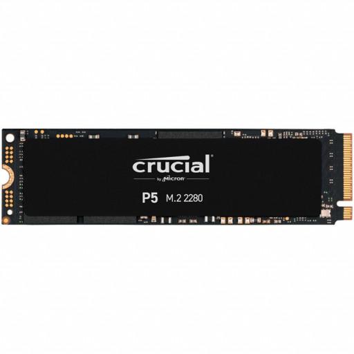 Crucial SSD 250GB P5 M.2 NVMe PCIEx4 80mm Micron 3D NAND  3400/1400 MB/s, 5yrs, EAN: 649528823236