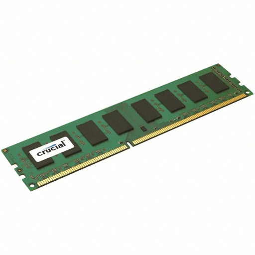 Crucial RAM 4GB DDR3L 1600 MT/s (PC3L-12800) CL11 Unbuffered UDIMM 240pin 1.35V/1.5V