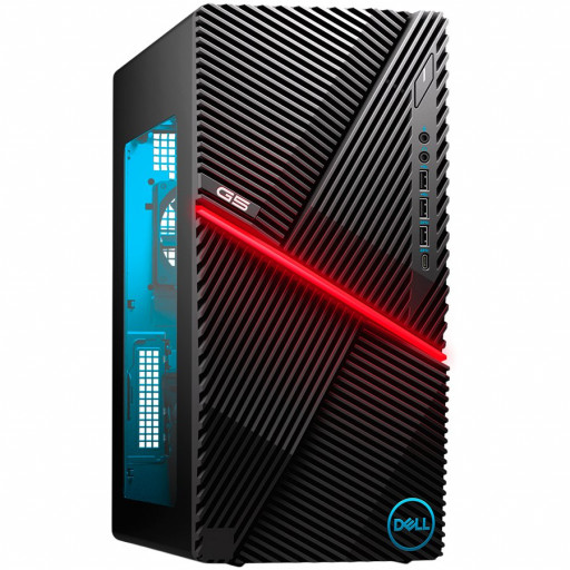 Dell G5(5000)Desktop,Intel Core i7-10700F(8 Core/16MB/2.9GHz to 4.8GHz),16GB(2x8)2933Mhz,1TB(M.2)PCIe NVMe,NVIDIA GeForce RTX 2060 SUPER/8GB,Wi-Fi 6 AX1650i(2x2) 02.11ax&Bth 5.1,Dell Mouse-MS116,Dell Keybd KB216,Win10Home,3Yr NBD