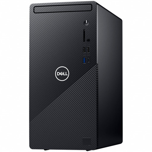 "Dell Inspiron 3881 Desktop MT,Intel Core i5-10400F(6 Core/12MB/2.9GHz to 4.3GHz),8GB(1x8)2666MHz,256GB(M.2)NVMe PCIe+1TB(3.5"")7200rpm HDD,DVD+/-,NVIDIA GeForce RTX 1650 Super/4GB,WiFi802.11ac(1x1)&Bth,Dell Mouse-MS116,Dell Keybd KB216,Ubuntu,3Yr CIS"