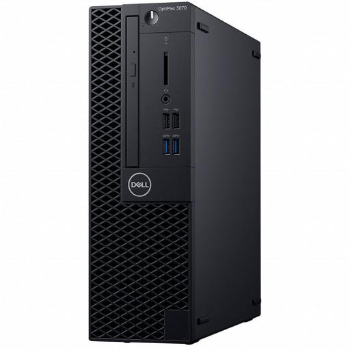 Dell Optiplex 3070 SFF, Intel Core i5-9500 ,8GB(1X8GB) DDR4 2666MHz,256GB(M.2)NVMe SSD ,DVD+/-RW,  Intel Graphics, Dell Mouse - MS116, Keyboard KB216, Windows 10 Pro (64bit) , 3Yr NBD