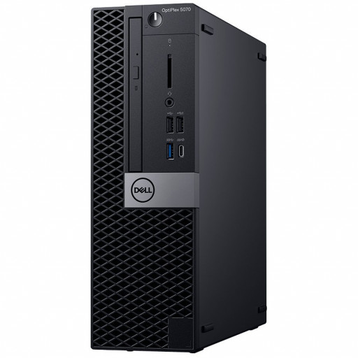 Dell Optiplex 5070 SFF, Intel Core i5-9500(6 Cores/9MB/6T/3.0GHz to 4.4GHz),8GB(1x8GB) DDR4 2666MHz,256GB(M.2)NVMe SSD, DVD+/-RW, Intel Graphics,Dell Mouse-MS116, Dell Keyboard-KB216, Win 10 Pro (64bit), 3Yr  NBD