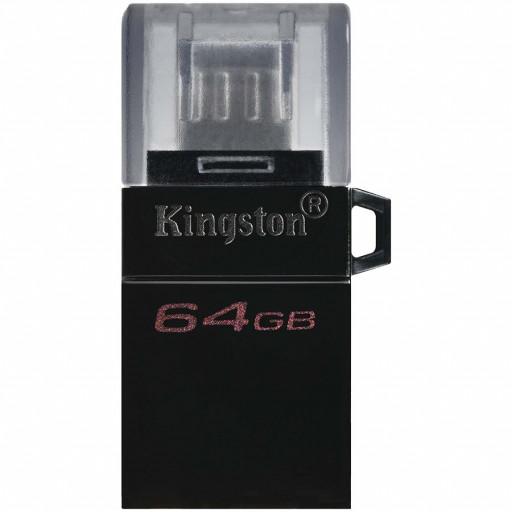Kingston 64GB DT MicroDuo 3 Gen2 + microUSB (Android/OTG), EAN:740617306606