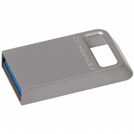 Kingston 128GB DTMicro USB 3.1/3.0 Type-A metal ultra-compact drive  EAN: 740617242928