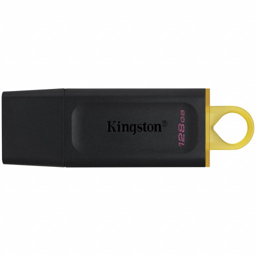 KINGSTON 128GB USB3.2 Gen1 DataTraveler Exodia (Black + Yellow)