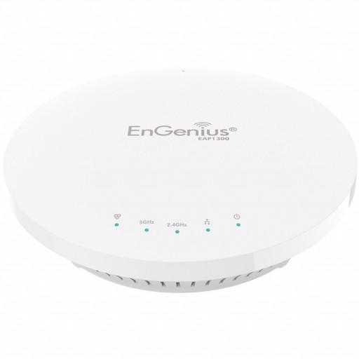 Wireless 11acW2 AP Ceiling Mount 11ac/b/g/n 2.4+5GHz 400+867 2T2R 4x5dBi ia GbE PoE