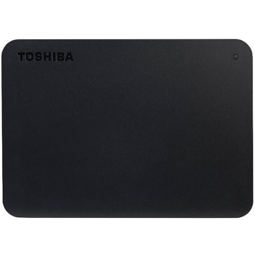 "Toshiba External Hard Drive Canvio Basics + USB-C adapter (2.5"" 2TB, USB3.2 Gen 1, Black)"