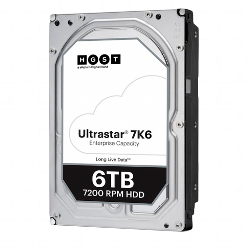 Western Digital Ultrastar DC HDD HC310 (3.5'', 6TB, 256MB, 7200 RPM, SATA 6Gb/s, 512E SE), SKU: 0B36039 (WD6002FRYZ replacement)