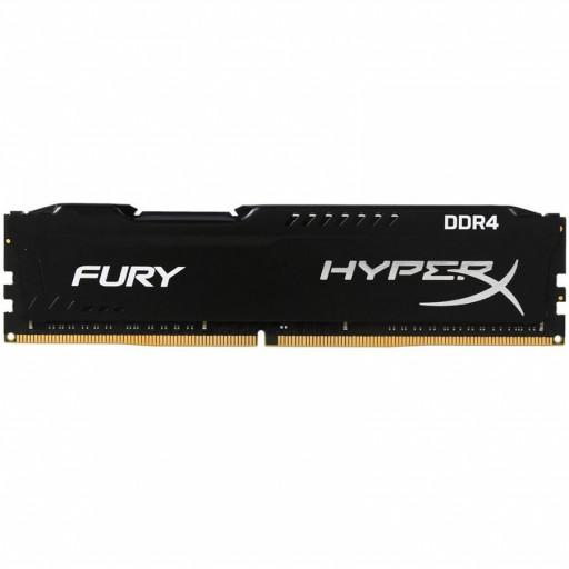 Kingston DRAM 8GB 2400MHz DDR4 CL15 DIMM 1Rx8 HyperX FURY Black EAN: 740617293456