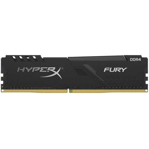 Kingston DRAM 16GB 2666MHz DDR4 CL16 DIMM HyperX FURY Black EAN: 740617293364