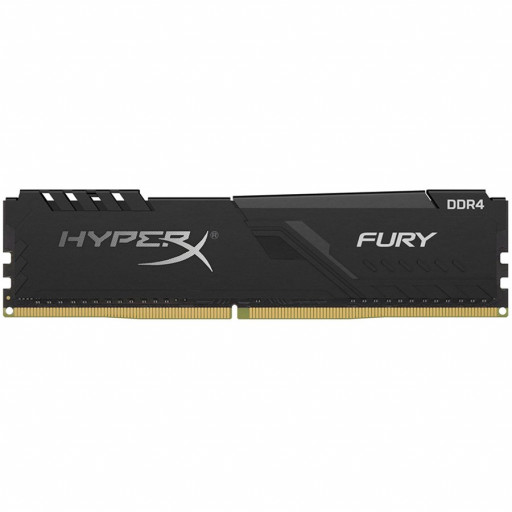 Kingston DRAM 8GB 2666MHz DDR4 CL16 DIMM 1Rx8 HyperX FURY Black EAN: 740617293395
