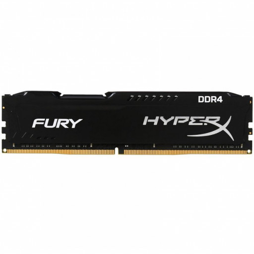 Kingston DRAM 16GB 3200MHz DDR4 CL16 DIMM HyperX FURY Black EAN: 740617296297
