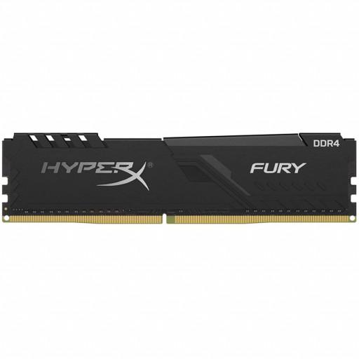 Kingston DRAM 8GB 3200MHz DDR4 CL16 DIMM 1Rx8 HyperX FURY Black EAN: 740617296358