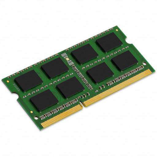 Kingston System Specific RAM 4GB 1600MHz Low Voltage SODIMM - Standard 512M X 64 Non-ECC 1600MHz 204-pin Unbuffered SODIMM 1RX8 (DDR3L, 1.35V, CL11, 4Gbit, FBGA, Gold)