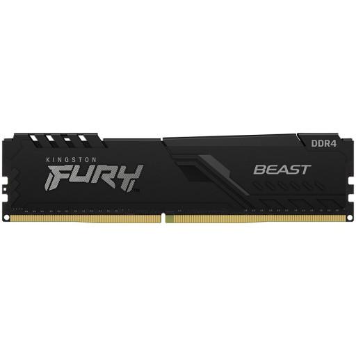 Kingston DRAM 4GB 2666MHz DDR4 CL16 DIMM FURY Beast Black EAN: 740617317879