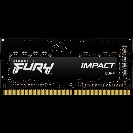 Kingston DRAM 16GB 2666MHz DDR4 CL16 SODIMM FURY Impact EAN: 740617318555