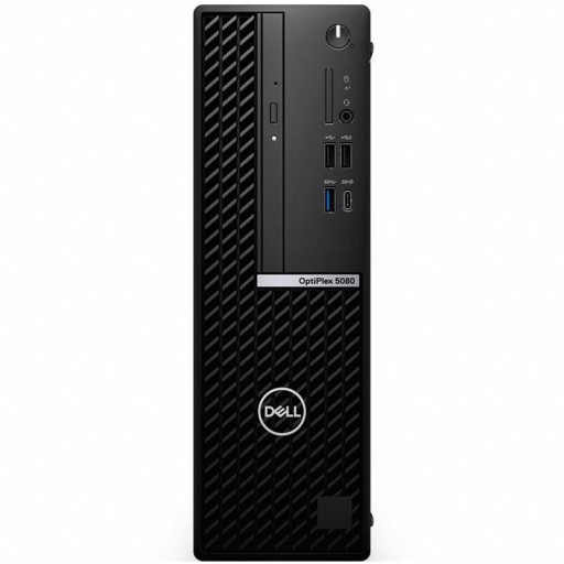 DELL OptiPlex 5080 SFF,Intel Core i7-10700(8 Cores/16MB/16T/2.9GHz to 4.8GHz),8GB(1x8)DDR4,256GB(M.2)NVMe SSD,DVD+/-,Intel Integrated Graphics,noWireless,Dell Mouse-MS116,Dell Keyboard-KB216,Win10Pro,3Yr NBD