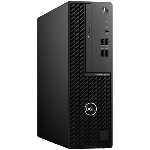 Dell OptiPlex 3080 SFF,Intel Core i5-10500(6-Cores/12MB/12T/3.1GHz to 4.5GHz),8GB(1x8)DDR4,256GB(M.2)NVMe SSD,DVD+/-,Intel Integrated Graphics,noWi-Fi,Dell Mouse-MS116,Dell Keyboard-KB216,Win10Pro,3Yr NBD