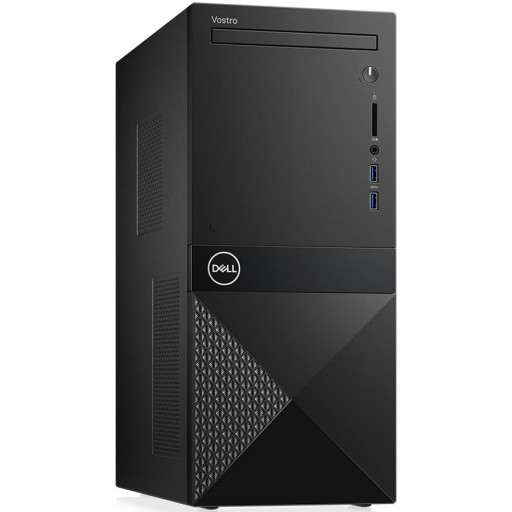 Dell Vostro MT 3671,Intel Core i5-9400(9MB Cache, up to 4.1 GHz),8GB(1x8GB)2666MHz UDIMM DDR4,1TB 7200RPM SATA,DVD+/-,Integrated Graphics,Wifi 1707 Card (802.11BGN + Bluetooth 4.0, 2.4 GHz)Dell Mouse - MS116, Dell Keyboard KB216,Win 10 Pro,3Yr NBD