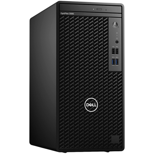 Dell OptiPlex 3080 MT,Intel Core i5-10505(6-Core/12MB/12T/3.2GHz to 4.6GHz),8GB(1x8)DDR4,256GB(M.2)NVMe SSD,DVD+/-,Intel Integrated Graphics,NoWi-Fi,Dell Mouse-MS116,Dell Keyboard-KB216,Ubuntu,3Yr NBD