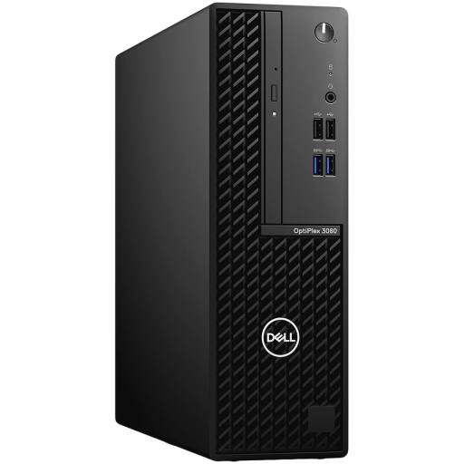 Dell OptiPlex 3080 SFF,Intel Core i5-10505(6-Core/12MB/12T/3.2GHz to 4.6GHz),8GB(1x8)DDR4,256GB(M.2)NVMe SSD,DVD+/-,Intel Integrated Graphics,noWi-Fi,Dell Mouse-MS116,Dell Keyboard-KB216,Win10Pro,3Yr NBD
