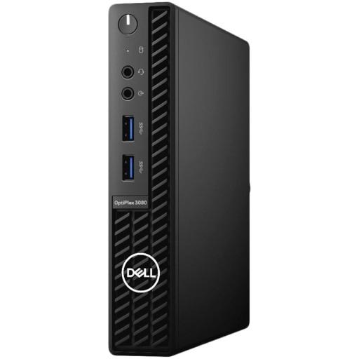 Dell OptiPlex 3080 MFF,Intel Core i5-10500T(6 Cores/12MB/12T/2.3GHz to 3.8GHz),8GB(1x8)DDR4,256GB(M.2)NVMe SSD,noDVD,Intel Integrated Graphics,Intel Wi-Fi 6 AX200 2x2 (Gig+)+Bth 5,Dell Mouse-MS116,Dell Keyboard-KB216,Win10Pro,3Yr NBD
