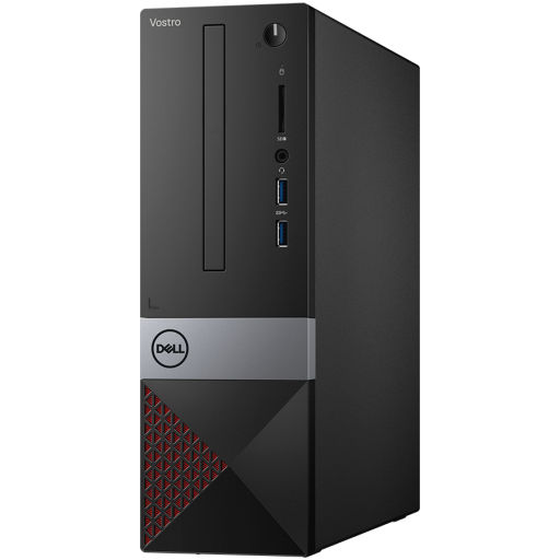 Dell Vostro DT 3471 SFF,Intel Core i3-9100(6MB Cache, up to 4.2 GHz),8GB(1x8GB)2400MHz UDIMM DDR4,256GB(M.2)SDD,DVD+/-,Integrated Graphics,Wifi 1707 Card (802.11BGN + Bluetooth 4.0, 2.4 GHz)Dell Mouse - MS116, Dell Keyboard KB216,Ubuntu3Yr NBD