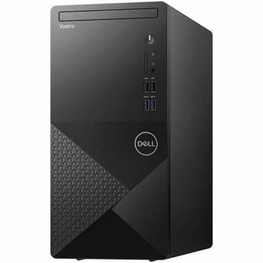Dell Vostro 3888 MT,Intel Core i5-10400(12MB,up to 4.3 GHz),8GB(1x8)2666MHz DDR4,512GB(M.2)PCIe NVMe SSD,DVD+/-,Integrated Graphics,Wi-Fi 802.11ac(1x1)+ Bth,Dell Mouse - MS116,Dell Keyboard - KB216,Ubuntu,3Yr NBD