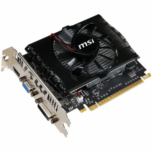 MSI Video Card Nvidia GT 730 N730-2GD3V2 (GT730, 2GB DDR3 128bit, 1xHDMI, 1x DVI-D, 1xVGA, 49W)