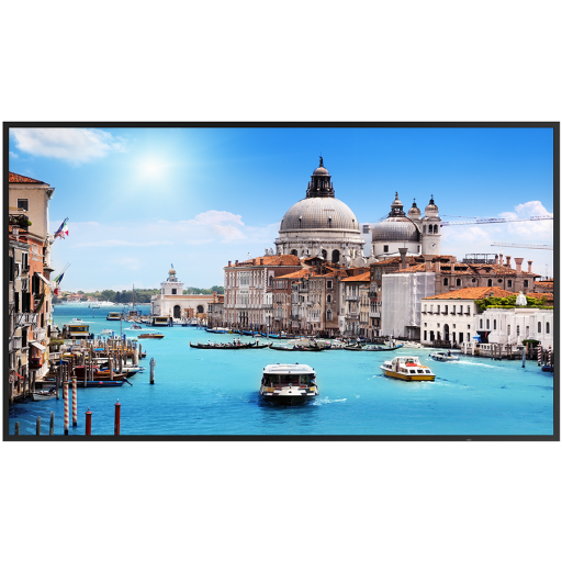 """Prestigio IDS LCD Wall Mount 55"""" UHD 3840x2160, Landscape, 350cd/m2, HDMI (CEC) in, VGA in, USB2.0 in, RS232"""