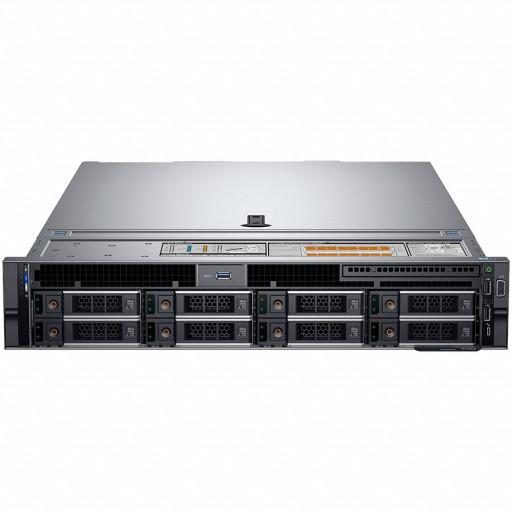 "Server Dell PowerEdge R740 Intel Xeon Silver 4210 2.2G (10C/20T),2x16GB RDIMM 3200MT/s,2x600GB 10K RPM SAS(up to 8 x 3.5"" SAS/SATA for 1CPU),PERC H730P,iDRAC9 Enterprise,Dual Hot-plug PS(1+1)750W,5720 Quad Port 1Gbe,Rails,3Yr Prspt"