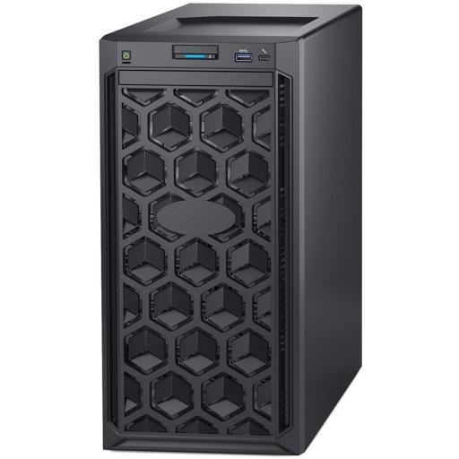 Dell PowerEdge T140 Tower Server,Intel Xeon E-2224 3.4GHz(4C/4T),16GB(1x16)UDIMM 2666MT/s,2x2TB 7.2K RPM SATA(3.5 Chassis up to 4 Cabled HDD),PERC H330,DVD+/-RW,iDrac9 Basic,3Yr NBD