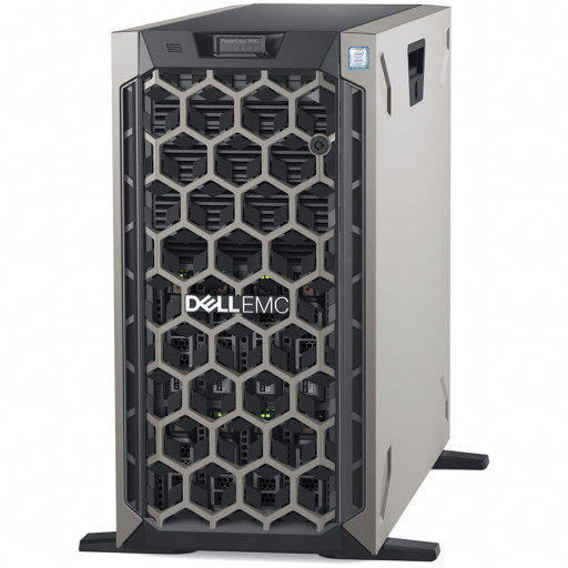 """Dell PowerEdge T440 Tower Server,Intel Xeon Silver 4208 2.1G(8C/16T),16GB(1x16)2666 MT/s RDIMM,600GB 10K RPM SAS-2.5in Hot-plug HDD 3.5in HYB CARR(Chassis with up to 8, 3.5"""" Hot Plug HDD),PERC H330, iDRAC9 Express,Dual Hot-plug PS(1+1)750W,3Yr NBD"""