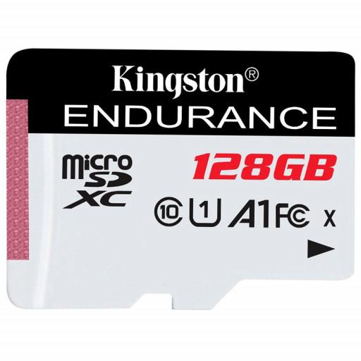 Kingston 128GB microSDHC Endurance Flash Memory Card, Class 10