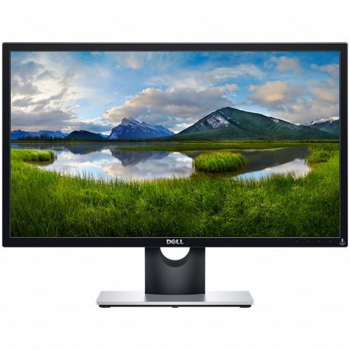 Monitor LED DELL Gaming SE2417HGX, 23.6'', 1920x1080 at 60Hz, 16:9, TN, 1000:1, 160/170, 1ms, 300 cd/m2, VGA, 2xHDMI 1.4