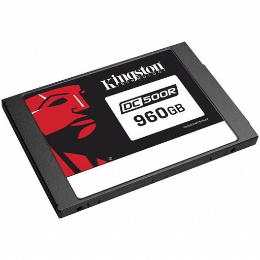 "KINGSTON DC500R 960GB Enterprise SSD, 2.5"" 7mm, SATA 6 Gb/s, Read/Write: 555 / 525 MB/s, Random Read/Write IOPS 98K/20K"