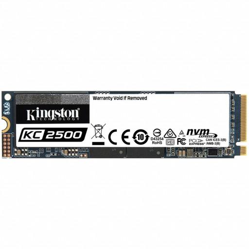 Kingston 2000GB KC2500 M.2 2280 NVMe SSD EAN: 740617307207