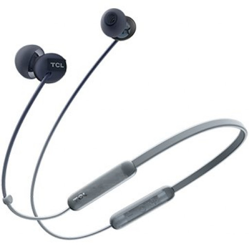 TCL Neckband (in-ear) Bluetooth Headset, Frequency of response: 10-23K, Sensitivity: 104 dB, Driver Size: 8.6mm, Impedence: 28 Ohm, Acoustic system: closed, Max power input: 25mW, Connectivity type: Bluetooth only (BT 5.0), Color Phantom Black