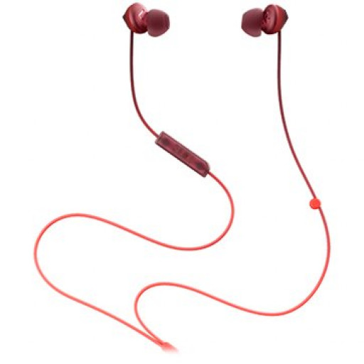 TCL In-ear Wired Headset, Frequency of response: 10-23K, Sensitivity: 104 dB, Driver Size: 8.6mm, Impedence: 28 Ohm, Acoustic system: closed, Max power input: 25mW, Connectivity type: 3.5mm jack, Color Sunset Orange