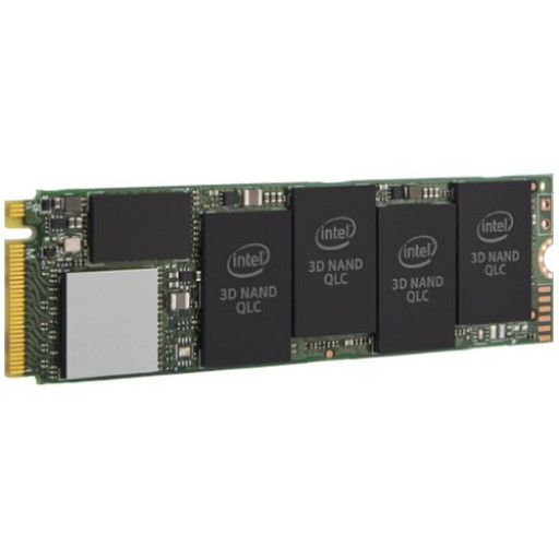 Intel SSD 660p Series (512GB, M.2 80mm PCIe 3.0 x4, 3D2, QLC) Retail Box Single Pack