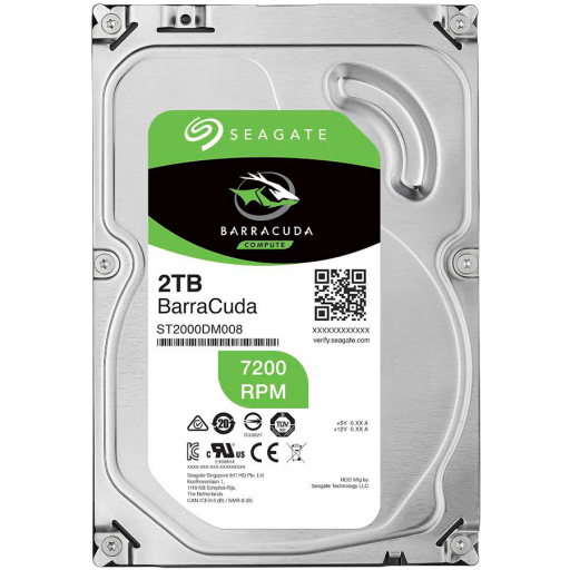 "SEAGATE HDD Desktop Barracuda Guardian (3.5""/2TB/SATA 6Gb/s/7200rpm)"