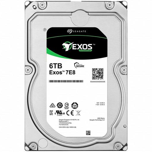 SEAGATE HDD Server Exos 7E8 512N (3.5'/4TB/SATA 6GB/s/7200rpm)