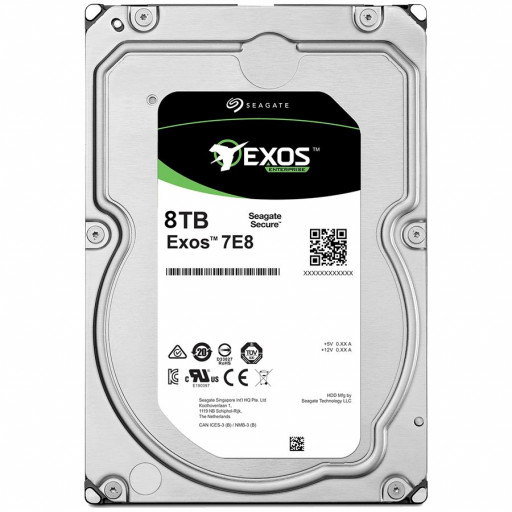 SEAGATE HDD Server Exos 7E8 512E/4kn (3.5'/8TB/SATA6GB/s/7200rpm)