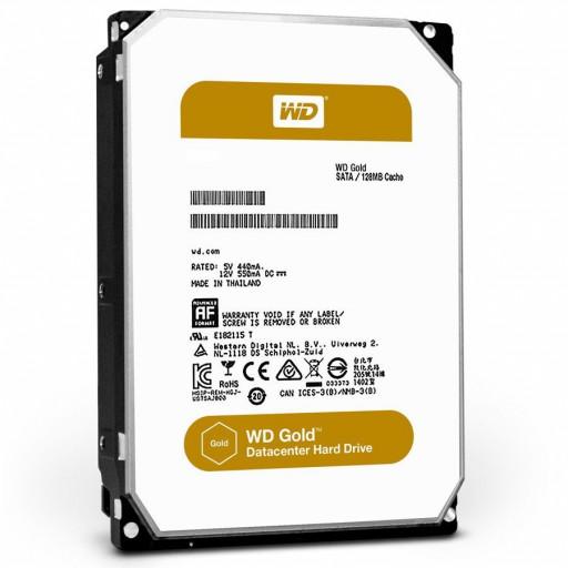 HDD Server WD Gold (3.5'', 12TB, 256MB, 7200 RPM, SATA 6 Gb/s)