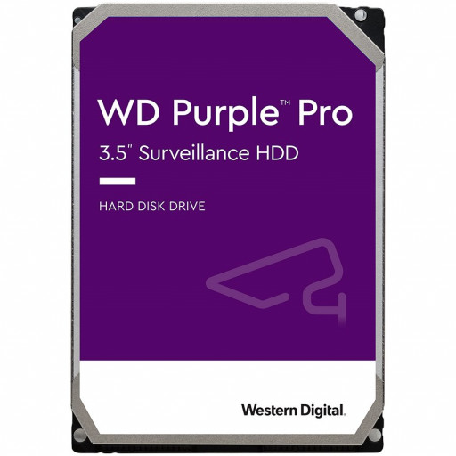HDD AV WD Purple Pro (3.5'', 12TB, 256MB, 7200 RPM, SATA 6 Gb/s)