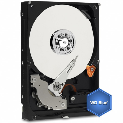 HDD Desktop WD Blue (3.5'', 2TB, 64MB, 5400 RPM, SATA 6 Gb/s)